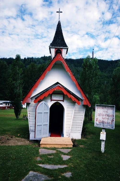 캐나다 여행중 만난 교회