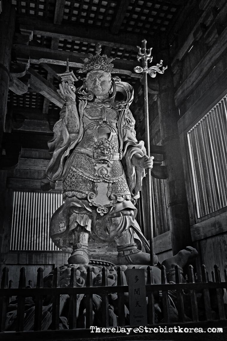 일본 동대사의 사천왕